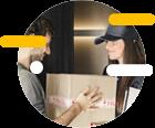 Service de retrait de livraison
